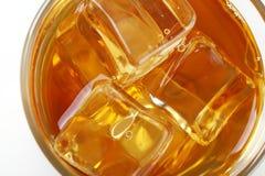 Apple juice with ice Stock Photos