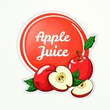 Apple Juice Logo Images libres de droits