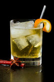 Apple juice on the rocks Royalty Free Stock Photos