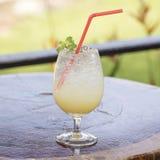 Apple Juice Soda Royaltyfri Bild