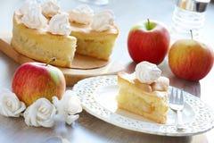 Apple kaka Fotografering för Bildbyråer