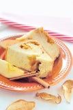 Apple kanelbrunt bröd Royaltyfria Foton