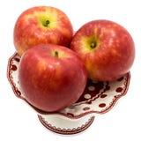 Apple Kanzi που απομονώνεται Στοκ Εικόνα