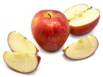 Apple Kanzi που απομονώνεται Στοκ εικόνες με δικαίωμα ελεύθερης χρήσης