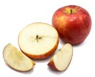 Apple Kanzi που απομονώνεται Στοκ Φωτογραφία