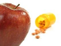 Apple keeps doctor away Stock Photo