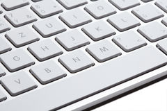 Apple keyboard Royalty Free Stock Photos