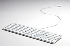 Apple keyboard Stock Photo