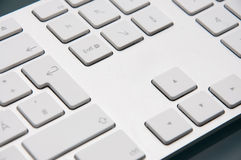 Apple Keyboard close-up Stock Image