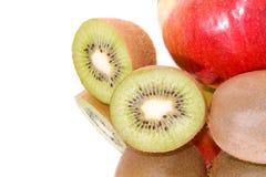 Apple... kiwi... Stock Photos