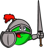 Apple knight Royalty Free Stock Photo
