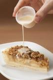 Apple-Krümel-Kuchen Stockbild