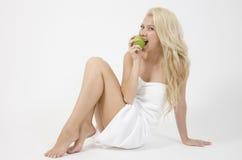 apple lady sexy Στοκ φωτογραφίες με δικαίωμα ελεύθερης χρήσης