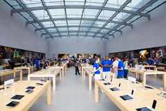 Apple lager arkivbild
