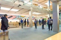 Apple lager Arkivfoto