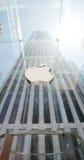 Apple lager i Manhattan, NYC Fotografering för Bildbyråer