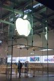 Apple lager i Santa Monica Arkivfoton