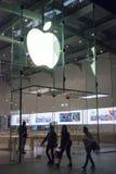 Apple lager i Santa Monica Royaltyfri Foto