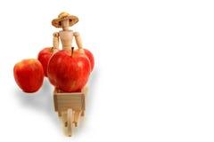 Apple-Landwirt Stockbild