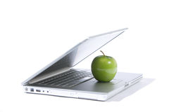 Apple Laptop Royalty Free Stock Photography