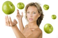 apple latać Zdjęcie Stock