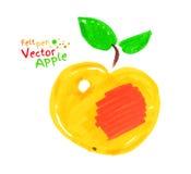 apple leaves yellow Стоковые Изображения RF