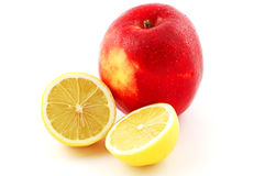 Apple and lemon Stock Photo