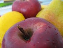 apple-lemon-pear Stock Photography