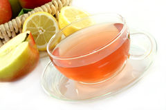 Apple Lemon Tea Royalty Free Stock Image