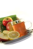 Apple-lemon tea Stock Images