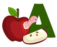A For Apple Stock Images