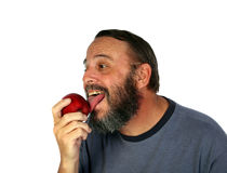 Apple licker Stock Photos