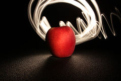 Apple and Light 1 Stock Photography