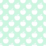Apple light seamless pattern background Royalty Free Stock Image