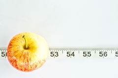 Apple on line Royalty Free Stock Photos
