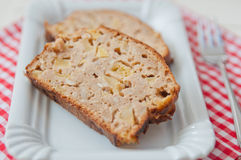 Apple Loaf Bread Royalty Free Stock Photo