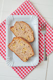 Apple Loaf Bread Stock Image