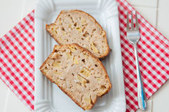 Apple Loaf Bread Stock Photos