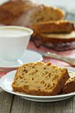 Apple loaf cake Stock Photography