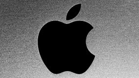 Apple Logo Stock Images