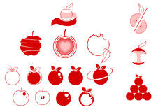 Apple logo Stock Photography