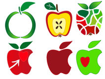 Apple-Logo Lizenzfreies Stockfoto