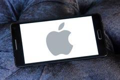 Apple logo Fotografering för Bildbyråer