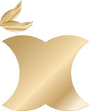 Apple logo. Abstract company logo Stock Photos