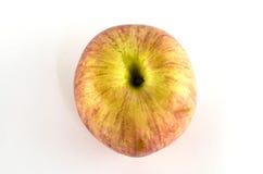 Apple lokalisierte auf Weiß Stockfoto