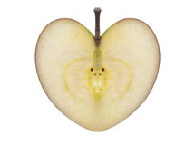 Apple of love Royalty Free Stock Photos