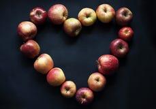 Apple love Stock Image