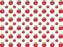 Apple in love background. Red apple made a background texture Stock Photo