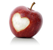Apple love Royalty Free Stock Photos