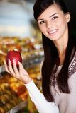 Apple lover Royalty Free Stock Photo